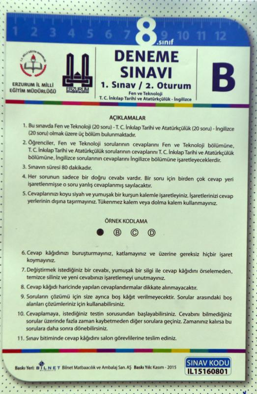 Büyükşehirden 14 Bin 372 öğrenciye Teog Denemesi Erzurum
