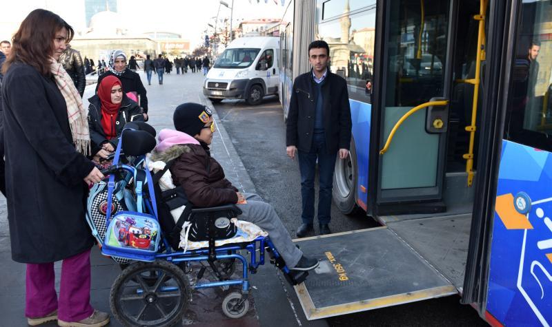 Engellilere toplu ulaşım ile ilgili görsel sonucu